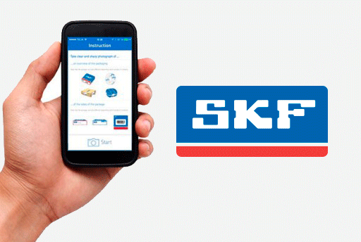 SKF App aimed at recognizing counterfeit bearings