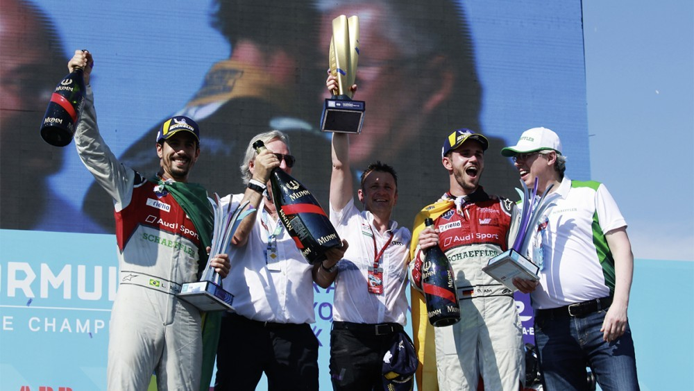 Audi Sport ABT Schaeffler – отбор шампион