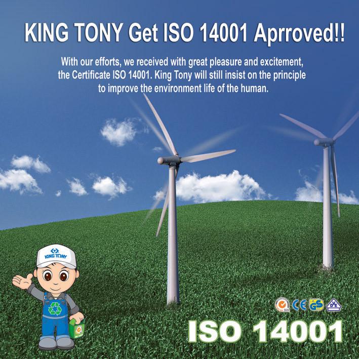 King Tony - ISO 14001